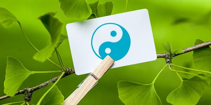 Yin & Yang-Zeichen